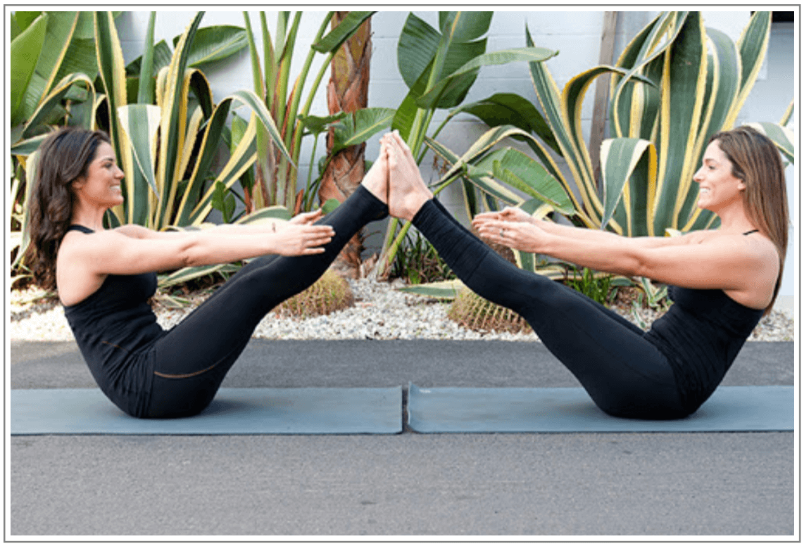 Enjoy Pilates with your friends and families!